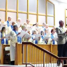 The Sun Lakes Jewish Congregation choir.