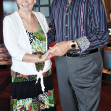Vice Presidents of the Dance Club Michael and Nancy Rogers