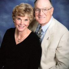 Joe and Shirley Marshall Klimoski, club Treasurers