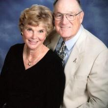 Joe and Shirley Marshall Klimoski, club Treasurers