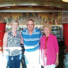 Beverly Plimpton, Richard Lewin, and Elaine Dover, photo courtesy of Richard Lewin