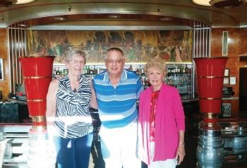 Beverly Plimpton, Richard Lewin, and Elaine Dover, photo courtesy of Richard Lewin