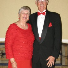 Fred and Linda Smith at last season's Valentine dinner dance