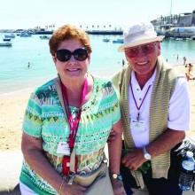 Doris and Ron Codkind celebrated their 60th wedding anniversary with a three week vacation to Spain and Portugal. They were married October 9, 1955 and have 3 married children, four grandchildren and two great- grandchildren.