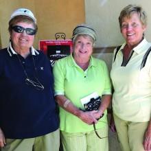 OLNGA volunteers (left to right) Karen Kenyon, Sharon Gale and Suevonne Negaard.