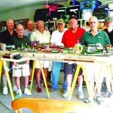 Members of the Short Line Model Railroad Club