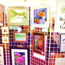 Enjoy original artwork at the Desert Artists Club Art Wal!