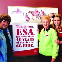 Check out the Alpha Kappa Sisters of Epsilon Sigma Alpha!