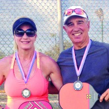 Susan Baze and Steve Smitham – 4.0 Mixed Doubles Silver Medalists