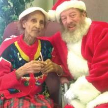Santa visits The Perfect Place!
