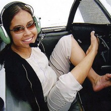 Born without arms, Jessica Cox will relate her experiences as the first armless woman pilot and world-traveling inspirational speaker during a presentation to the Sun Lakes Aero Club Monday, January 18 at the Sun Lakes Country Club.