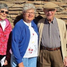Barbara Schira, Marge Meredith, Joe Bibler and Veronica Deuce talk about their days on the trail.