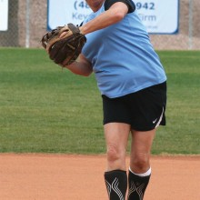 Lady Slugger Terry Finley (courtesy of Core Photography, LLC).