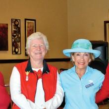 Pictured (left to right) 2016 OLNGA Treasurer Rachel Enloe, Secretary Julia Collier, Vice President Margaret Johns and President Barbara Stewart