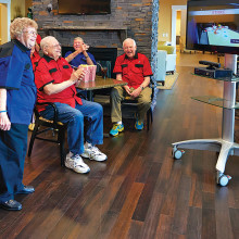 There's always something fun going on at the Gardens at Ocotillo Senior Living!