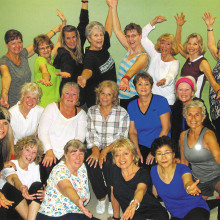 Some of the great women you will meet in Lesly's class!