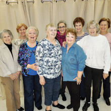 Join Janet Wallace's line dancing group!