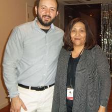 Tony Apodaca and Maria Mucino