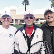 Al Wagner, Don Neu and Bob Pivec; Photo by Mary Burke