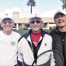 Al Wagner, Don Neu and Bob Pivec; Photo by Mary Burke