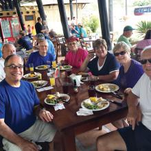 Vic and Joanna Hermann, Karen and Frank Antonio, Gary and Dorothy Vacin and Jack and Kit Carlton in Costa Rica