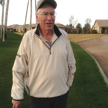 Jim Redden gets his fifth hole-in-one!