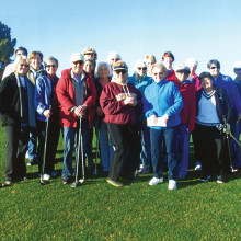 Ladies Pitch and Putt members