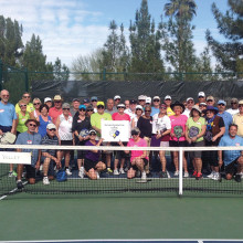 The Sun Lakes Pickleball Club learns Pickleball Rodeo!