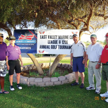 Golfing to help wounded veterans.