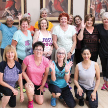 Join Mary for a Zumba class!