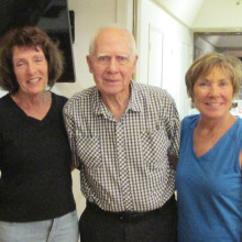 Betty Dunn, Paul Patterson and Jeanne Tooley