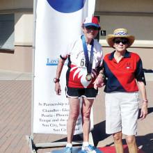 Eva Vogelsang wins two gold medals!