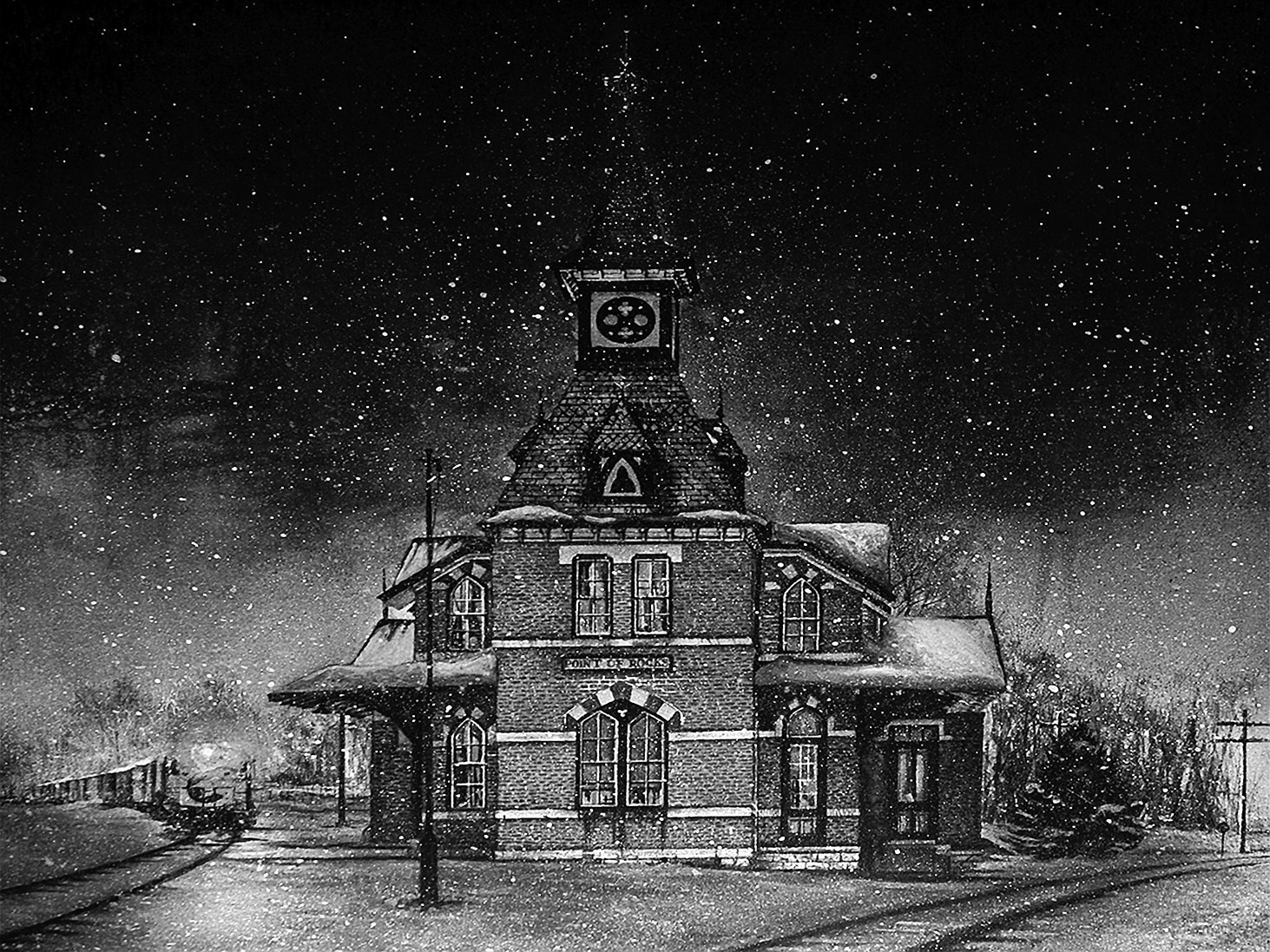 The Train Station by Mac Davey