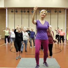 Forever Young - Tai Chi Parting Horses Mane class.