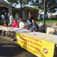 The Marine Corps League annual golf tournament benefits the Wounded Warriors and the Marines Helping Marines program.