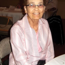 Nona Hove, a much loved volunteer