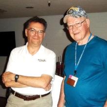Speaker Keith Wheeler and Vice Present Darrel Kreglo