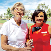 Eden Carter and Diane Hill are the State Medallion winners and will represent Cottonwood's Lady Niners in statewide competition January 15 at PebbleCreek Golf Course. Carter won Low Net and Hill Low Gross.