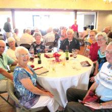 Members enjoying the spring fling banquet!