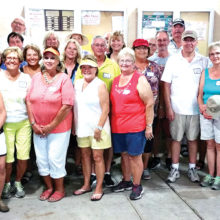 The Low Hanging Fruities - a fun tournament with Sisk Park Bocce in March.