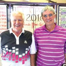 Palo Verde 2016 member/guest champions, Gary Zahnow (left) and Gerry Kuczek