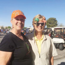 Leann Knox on the left and Karen Welker on the right.