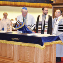 Rabbi Wiener and his first Bar Mitzvah at Sun Lakes Jewish Congregation