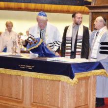 Rabbi Wiener and his first Bar Mitzvah at Sun Lakes Jewish Congregation