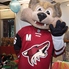 Howler was the special guest at last year's Ataxia Awareness Extravaganza!