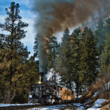 Durango Train by John Livoti