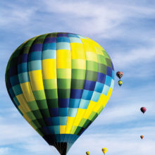 Hot Air Balloons by Linda Davis