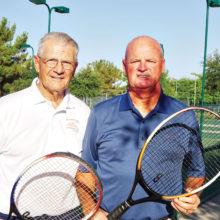 Wayne Newman and Len Paulson
