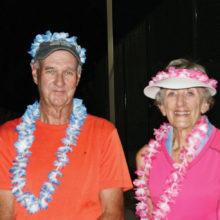 Bob Sedgley and Betty Joseph