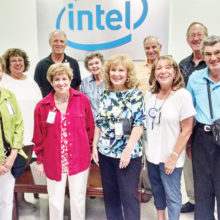 New Adventures members toured Intel's Chandler Boulevard facility in June. They visited Intel's new Maker Space where they watched Three-D printer operations, checked out the machine shop, and learned about the company's support of new ideas.
